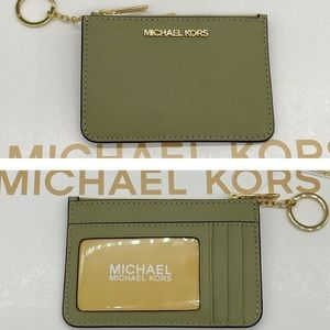 Michael Kors TZ Coinpouch Wallet Thyme